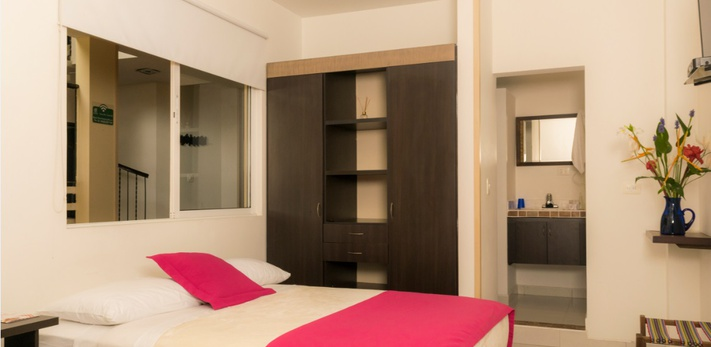 Estándar Doble Hotel Casa Santa Monica Campestre Pance