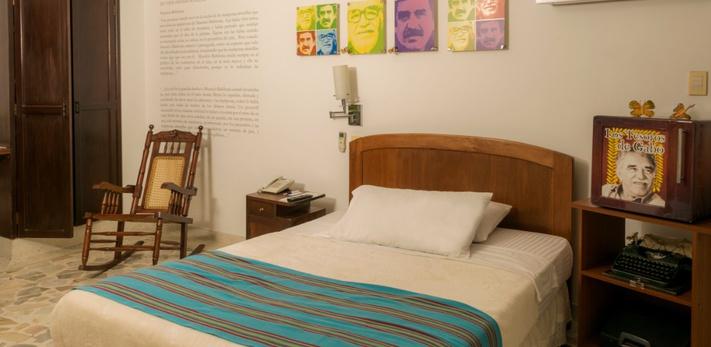 Temática Gabriel García Márquez Hotel Casa Santa Monica Cali Norte